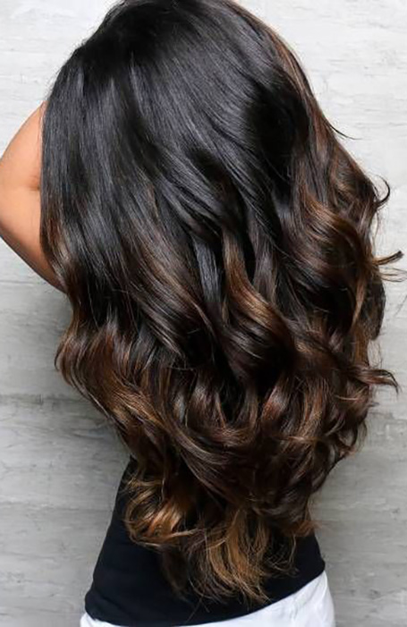 Balayage-Black-Hair