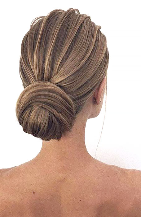 Chignon-Bridal-Hairstyle