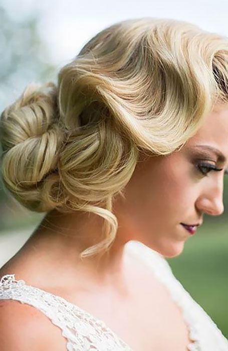 Classic-Vintage-Bridal-Updo-Hairstyle