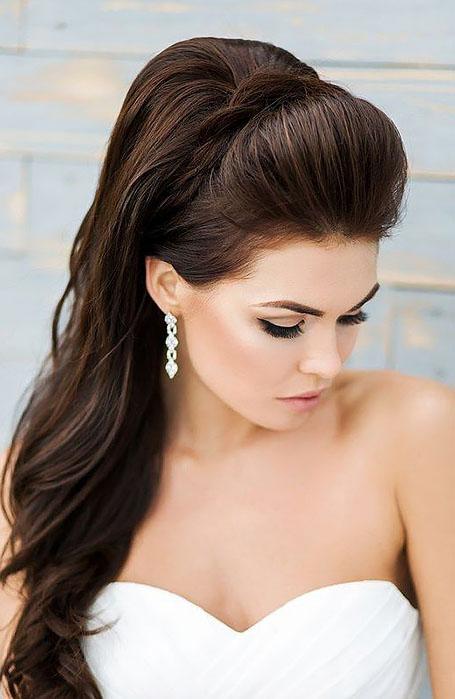Glamorous-Bridal-Ponytail