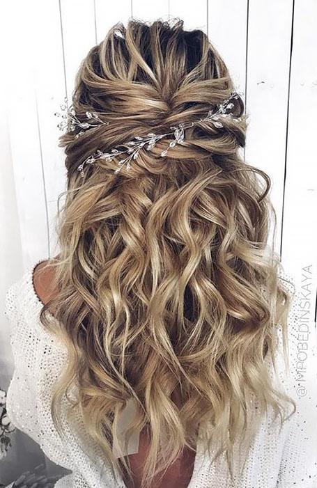 Half-Up-Half-Down-Bridal-Hairstyle