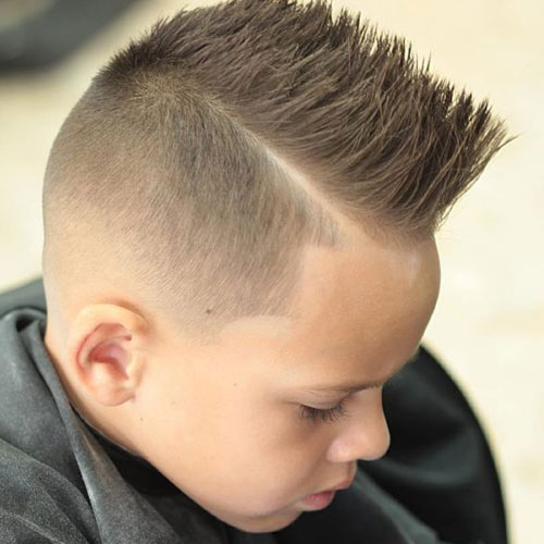 Low-Fade-with-Spiky-Hair