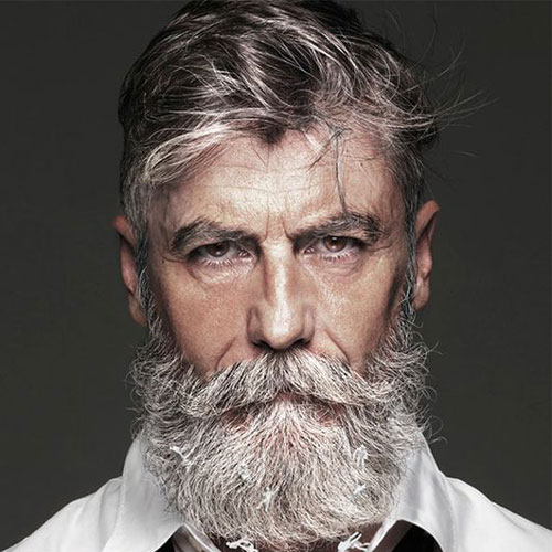 Messy-Hair-with-Beard-for-Older-Men
