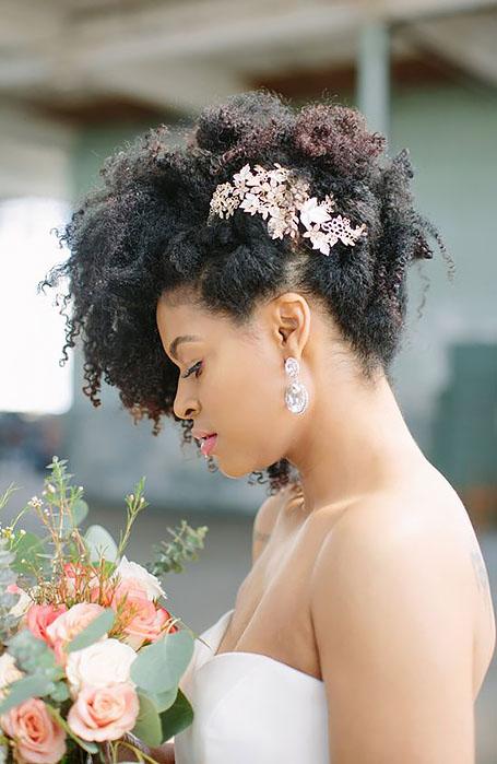 Natural-Black-Bridal-Hairstyle