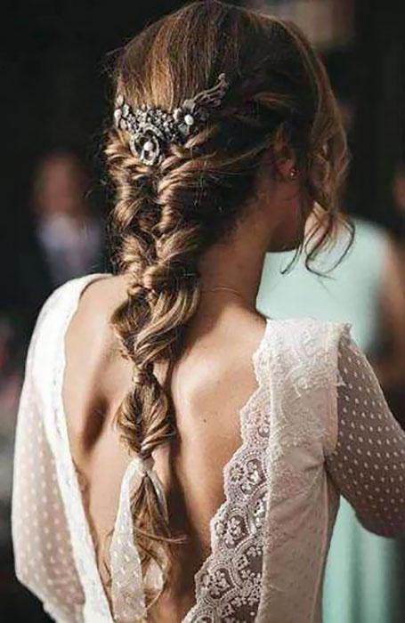 Stylish-Bridal-Fishtail-Braid